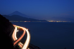 The night scene (Mt.Fuji) (peaceful-jp-scenery) Tags: night evening    mtfuji        dslra900 sal2470z variosonnart2470mmf28za