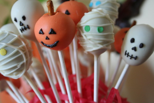 Halloween Cakepop collection
