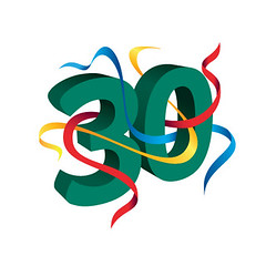 Sage 30th Birthday Logo