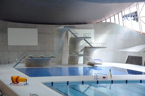 London Aquatics Centre diving boards