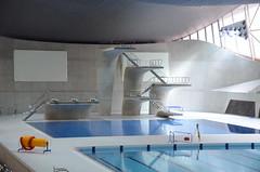 London Aquatics Centre diving boards (Alexander Kachkaev) Tags: london swimmingpool olympicpark londonaquaticscentre
