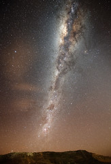 The Milky Way from a Dark Location