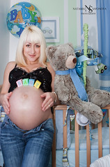 Lichfield photographer Natasha Safonova (Natasha Safonova Photography) Tags: woman baby girl toys child room pregnant belly maternity teddybear mothertobe momtobe