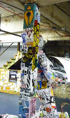 Sticker Nerds 2 - Can you guess who is upside down? (SKAM sticker) Tags: 2 stencils oregon portland support sticky stickers pdx crushed stumptown slaps skam kanye 2011 nastynate screenprinted mrsay handsteez worldwidecommunity stickernerds largestunitedstatesstickerinstallation stickersaresotoy fuckstickerart stickersarenotart whatabunchofstickers