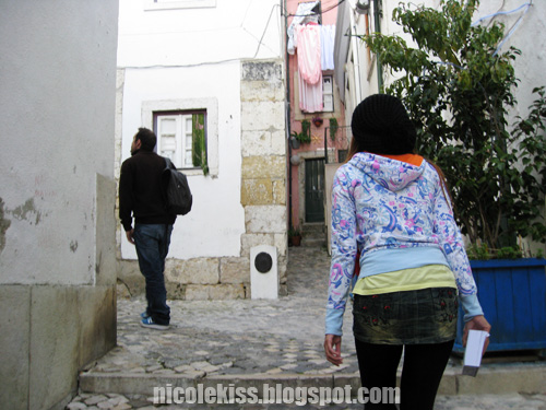 walking in alfama