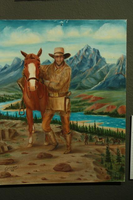 cowboy bad art show