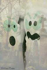 Halloween Fun :O (melissa_dawn) Tags: autumn cute fall texture halloween face canon eos scary kentucky ky canonrebel ghosts scare picnik happyhalloween fright goblins