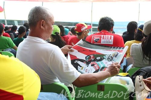 Umur tidak menghalang minat MotoGP