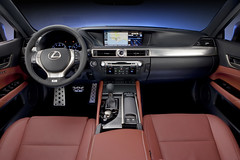 2013 Lexus GS with F Sport Package Pictures and video