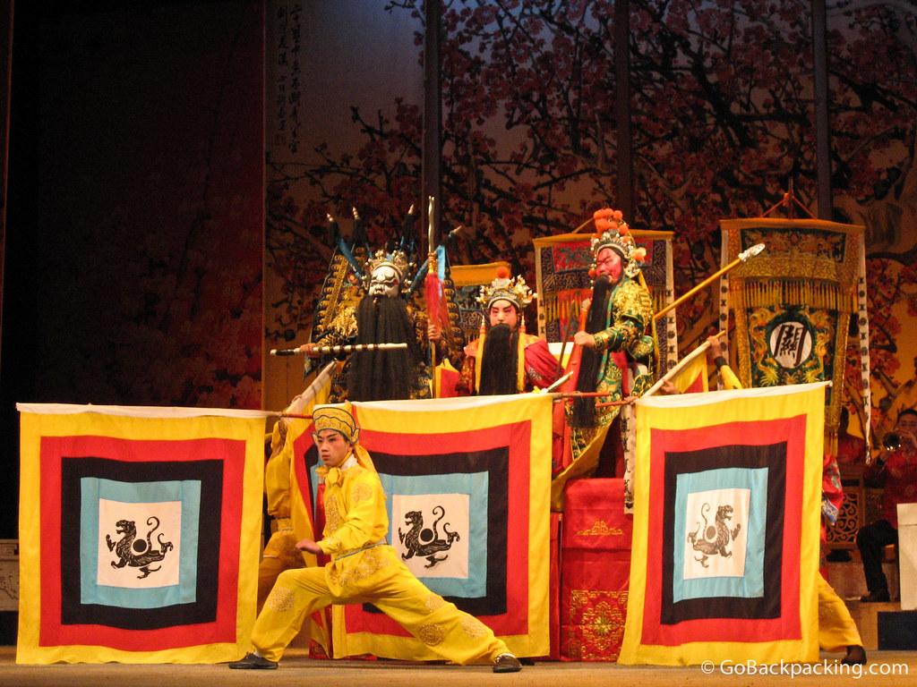 Sichuan Opera in Chengdu, China