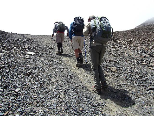 Trekking to the top
