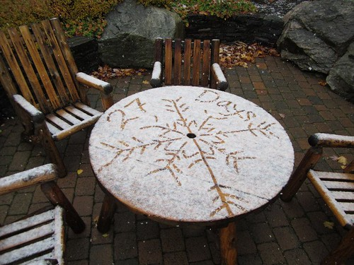 startton first snow 2011 table