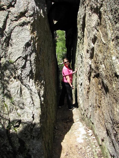 Karen on a Trail