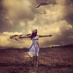 patchwork child (brookeshaden) Tags: broken girl collage paper character scarecrow craft torn brookeshaden texturebylesbrumes