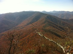 Shining Rock Ledge From Cold Mountain