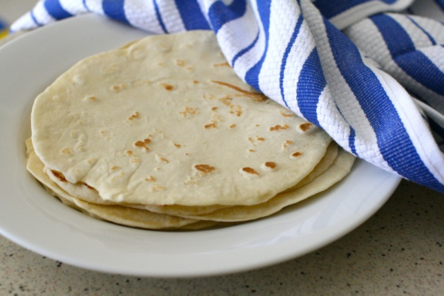DIY Flour Tortillas