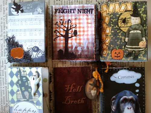Spooky Tiny Book Swap 2