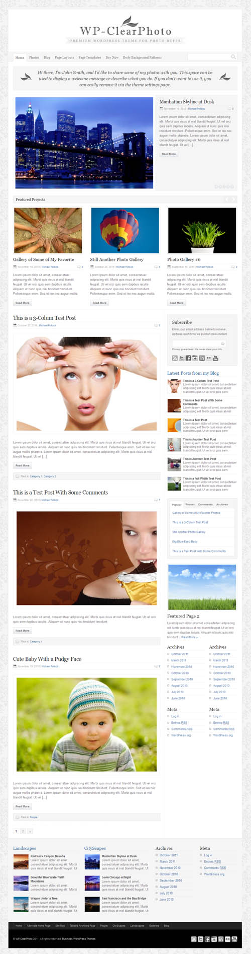 wp-clear-photo-wordpress-theme