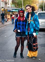 Toronto Street Fashion (Paul Hillier Photography) Tags: street boy toronto fall girl fashion vintage costume clothing market style domo kensington colourful grr kun accesories