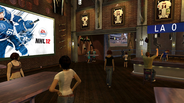 PlayStation Home: Sportswalk
