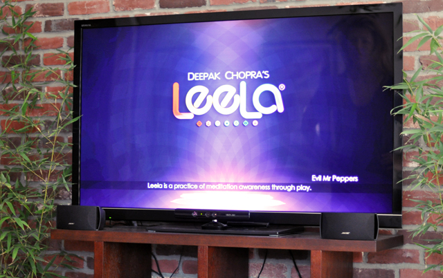 deepak chopra's leela on the xbox kinect