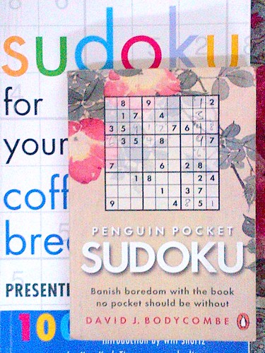 My Sudoku books