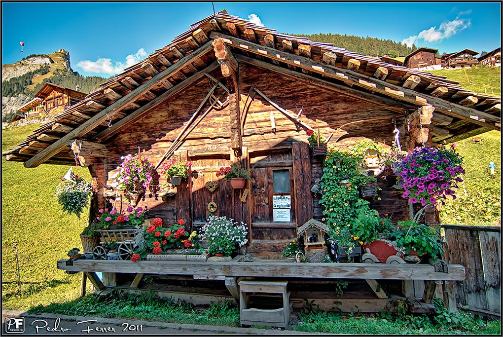 Suiza - Pueblos con encanto - Gimmelwald - Alpkäse zu verkaufen