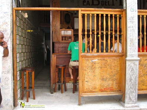 The First and Original Dive Bar - Havana Vieja - Cuba