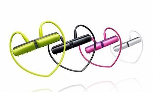 EL36 W252 Mini Sport MP3 Player - Headset Sport Necklet Cute Design