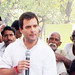 Rahul Gandhi in village chaupal, Sant Ravidas Nagar (2)