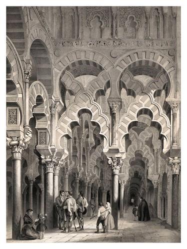 010-Capilla mozarabe catedral de Cordoba-España artística y monumental..Tomo I- 1842-1850-Genaro Perez de Villa-Amil