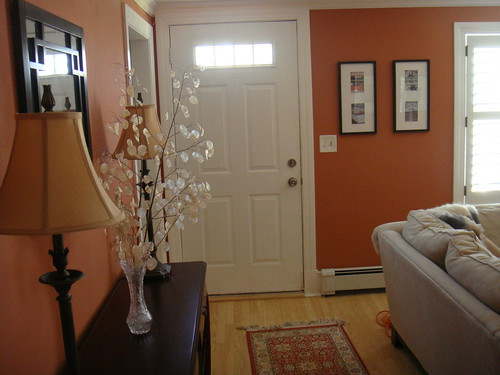Small Apartment Living Room Decor Ideas Color Foyer: Small Living Room With No Foyer