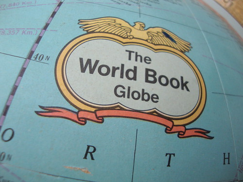 the world book globe