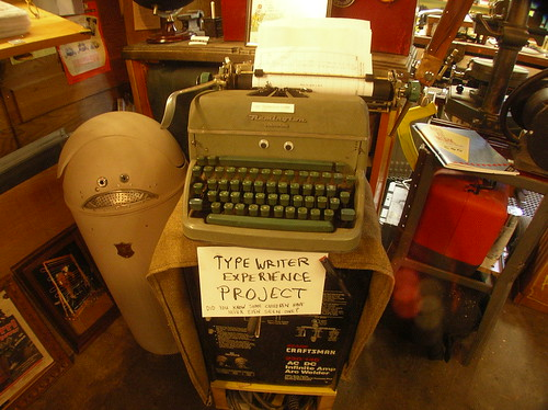 The Typewriter Experience Project (TMP)