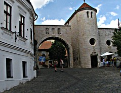 Castle gate (Marinyu..) Tags: veszprm castlegate barokk neogtikus