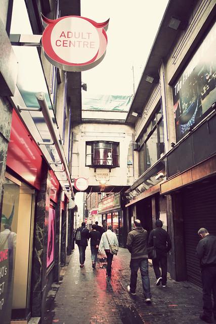 London. Soho