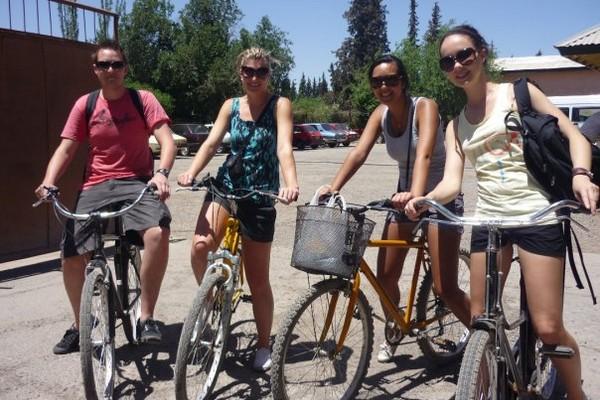 Us and bikes