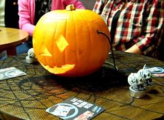 Pumpkin Table Dressing (Jaynie25) Tags: halloween souls st stone club dance brighton dress working n line fancy mens
