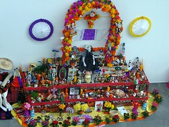 Celebración del Día de Muertos en Fráncfort del Meno