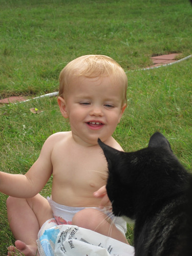 Baby and the Kitty