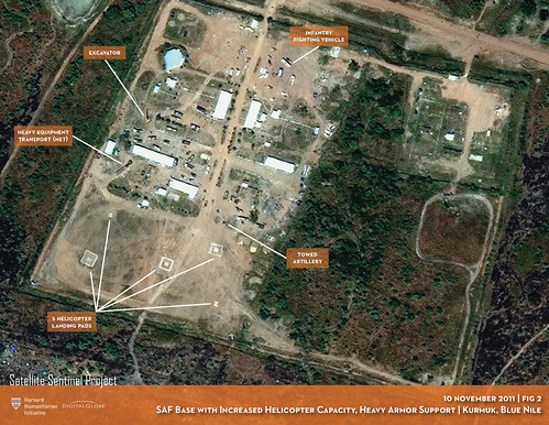 SAF Base with Increased Helicopter Capacity, Heavy Armor Support