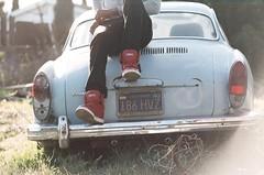 038_38 (lola smalls) Tags: california film 35mm vintage volkswagen minolta kodak 100 tungsten portra eastpaloalto minoltasrt101 expiredfilm lolasmalls