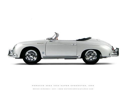 Porsche 1957-58 356A 1600 S (Super) Speedster - Silver