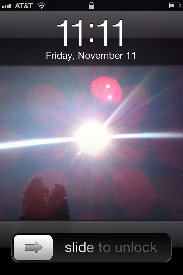 11:11 on 11/11/11