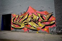 Mr. Martian (Scotty Cash) Tags: colors vancouver graffiti mtn nwk sueme 2011 9lives asesr