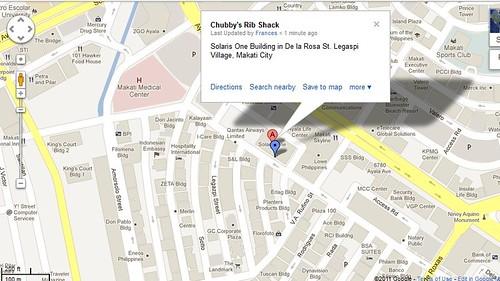 chubbys map