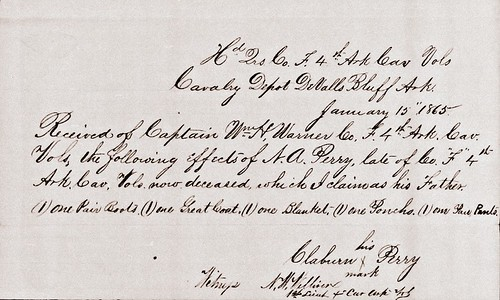 Nathaniel Perry Civil War Union Army Death