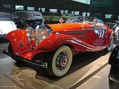 Mercedes-Benz Museum - Mercedes Benz 500 K Special-Roadster 1936