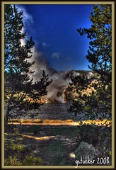Yellowstone Steam (the Gallopping Geezer 3.5 million + views....) Tags: nature landscape nationalpark scenery scenic yellowstone np geyser 2008 hdr geezer preservation