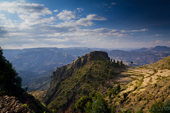 View from the Escarpment, Wollo, Ethiopia, 2011 (larkvi) Tags: africa landscape vista ethiopia winslow larkvi seanwinslow larkvicom wwwlarkvicom